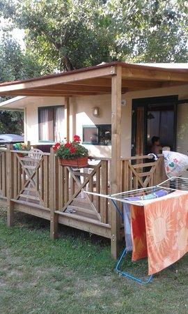 Campeggio Gasparina : Maxi caravan 4 pax
