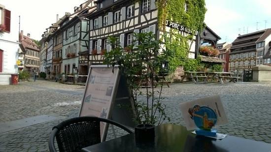 Fou d'Café : vue depuis la terrasse