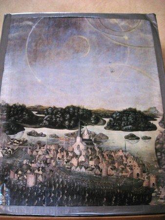 "Domkirche Stockholm (St.-Nikolai-Kirche): Знаменитая Картина ""Семь солнц"" (копия)"