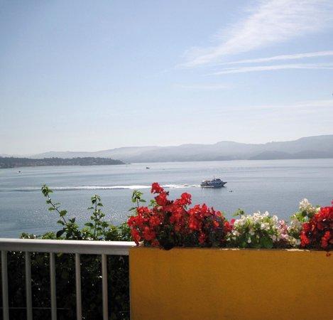 Hotel Siroco: terraza desayunos