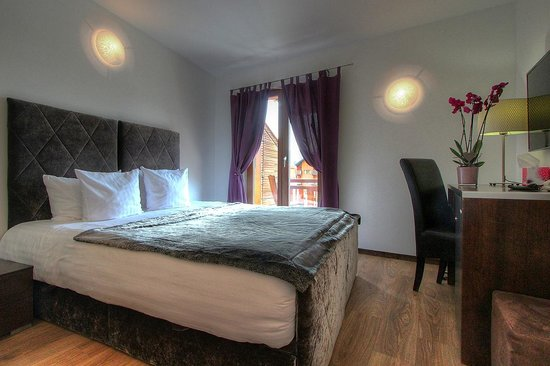 Central Hotel Verbier : Standard double or twin room with balcony