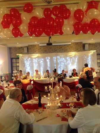 The Pride of Lincoln: Our wedding, the room looked fantastic... Thank you Pride of Lincoln