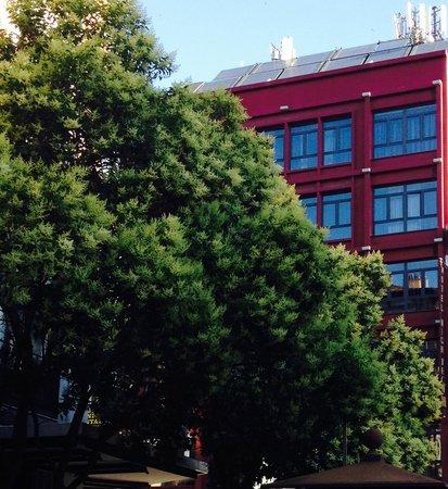 Petit Palace Mayor : View of the Hotel from Plaza Mayor