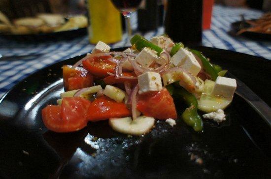 Fi Kitchen & Bar: Греческий салат!