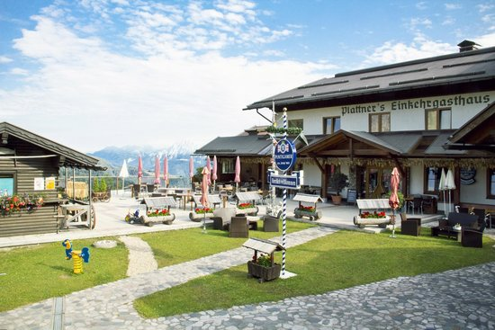 Alpenhotel Plattner: Plattner`s Sonnenterrasse