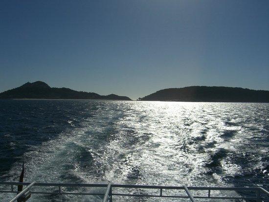 Barco Islas Cíes - Cruceros Rias Baixas: vuelta
