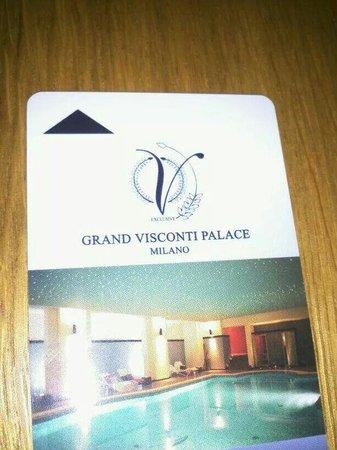 Grand Visconti Palace : La chiave della camera