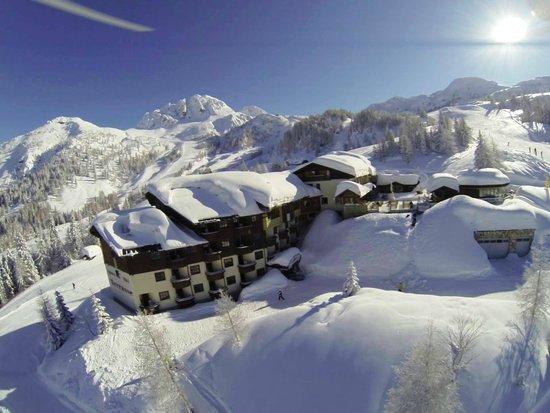 Alpenhotel Plattner: Winteransicht