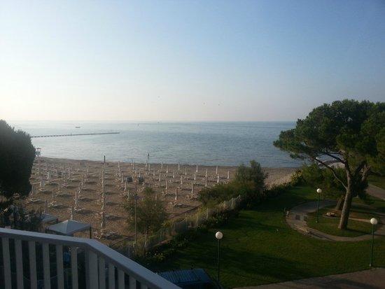 Albergo alla Spiaggia: Morning view from room