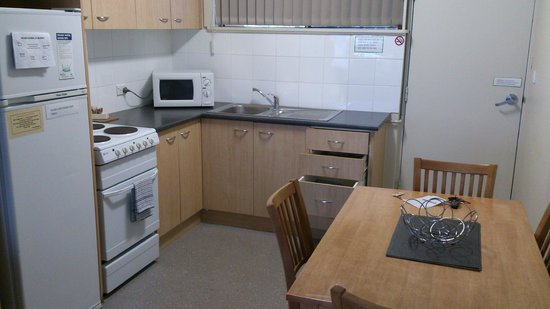 Waterview Apartments: Kitchen and dining