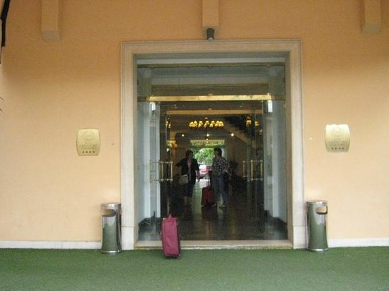Cristoforo Colombo Hotel : entrata