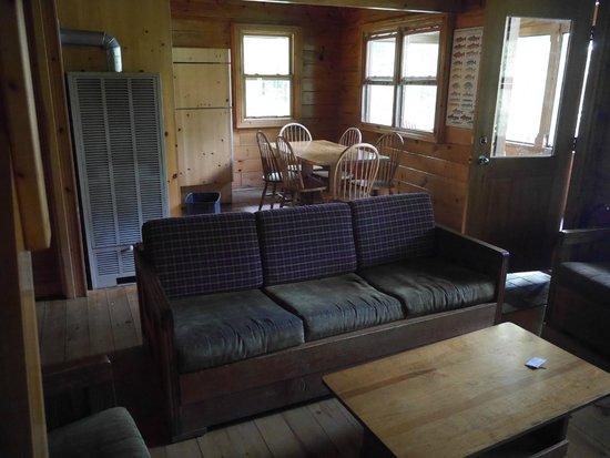 Kenauk Nature: View of living/kitchen area