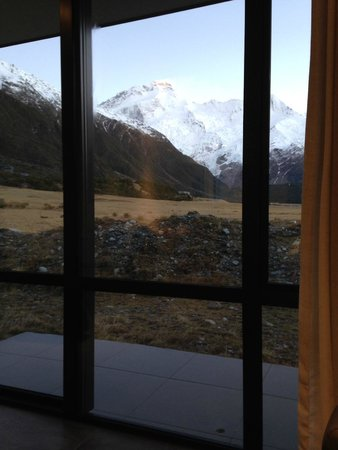 Aoraki Court Aoraki/Mt Cook Village: Gorgeous mountain view from the room