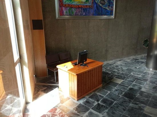 Geranios Suites & Spa : Hotel_Internet corner