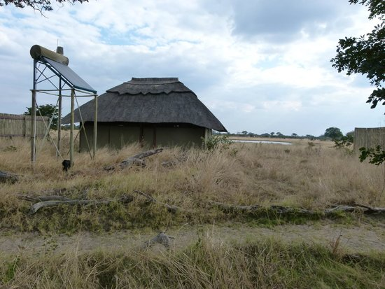 Our cottage at Camp Hwange