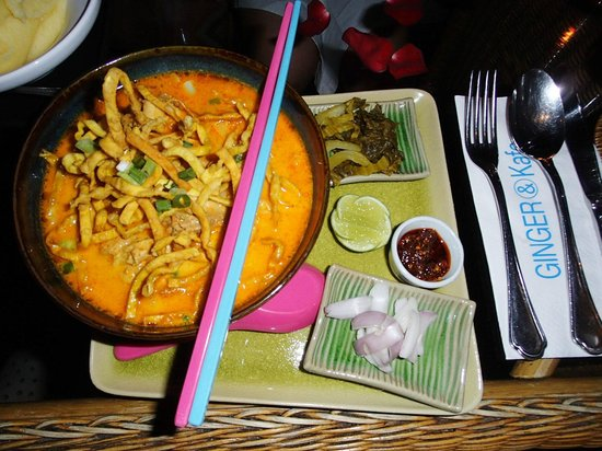 Ginger & Kafe: Loacl Treat Khao Soi..a must try in Chiang Mai