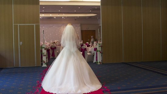 Holiday Inn Newport: Our wedding