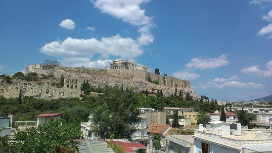 Acropolis View Hotel: Вид с террасы отеля