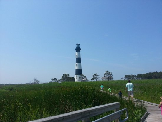 Bodie Island Lighthouse : Boardwalk view 1