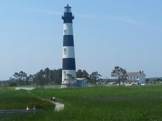 Bodie Island Lighthouse : Gazebo view 1