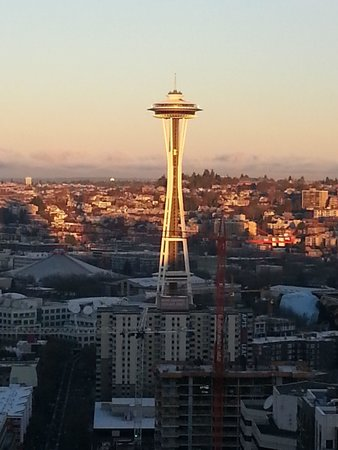 Space Needle taken from the Seattle Westin