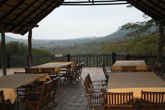Ancient City Lodge : View across the tree tops