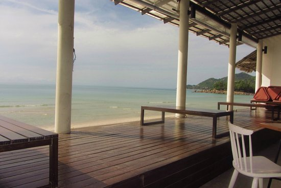 Baan Talay Resort: breakfast in the paradise