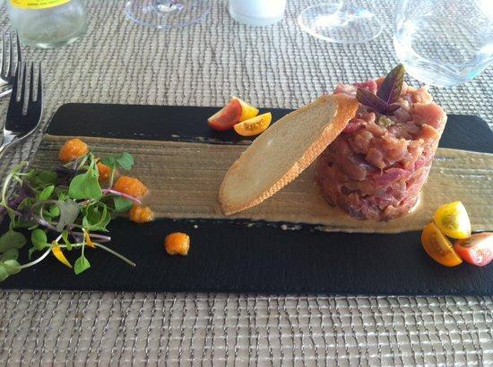 Nunu Restaurant: tuna tartar