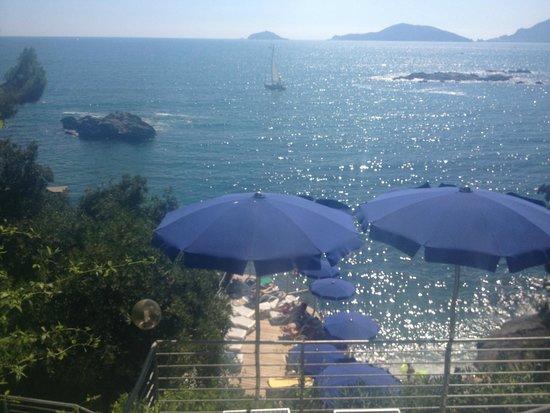 Hotel Il Nido: higher terrace