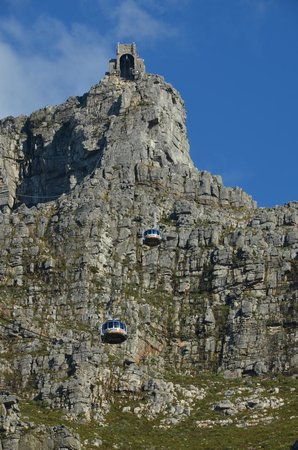 Table Mountain Aerial Cableway: l'ascension