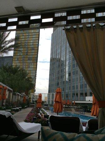 Mandarin Oriental, Las Vegas : pool from cabana