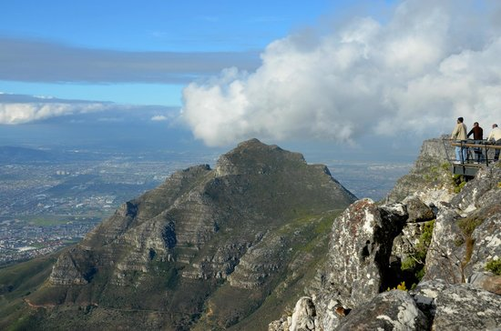 Table Mountain Aerial Cableway: le sommet