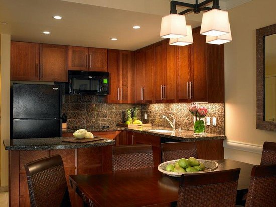 Westin Princeville Ocean Resort Villas: One Bedroom Kitchen