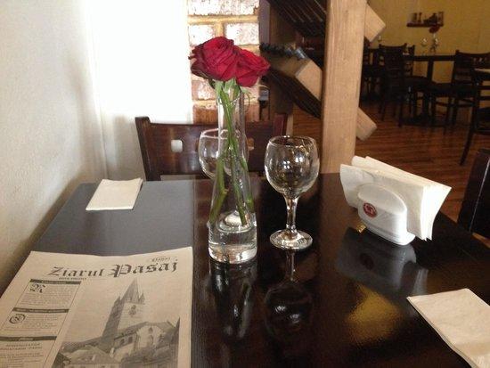 Restaurant Pasaj: The ciorba cu burta was just wonderful!! Thank you!
