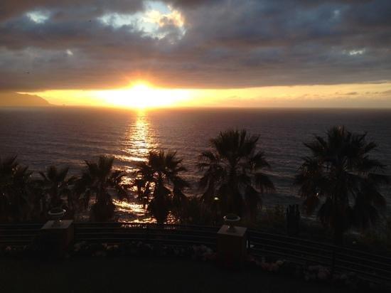 Monte Mar Palace: zachód słońca