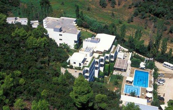 Plaza Skiathos Hotel: Aerial View