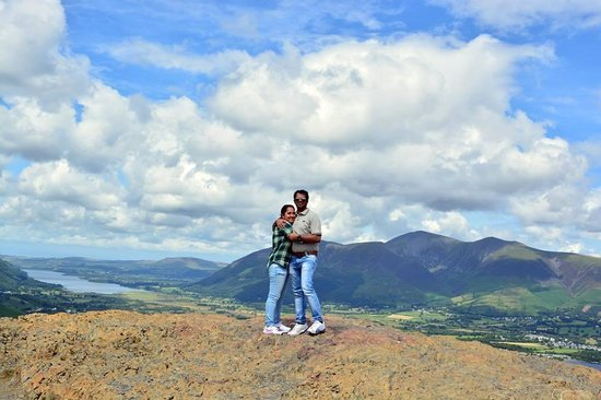 Catbells Lakeland Walk: finally belled the cat...at the summit!