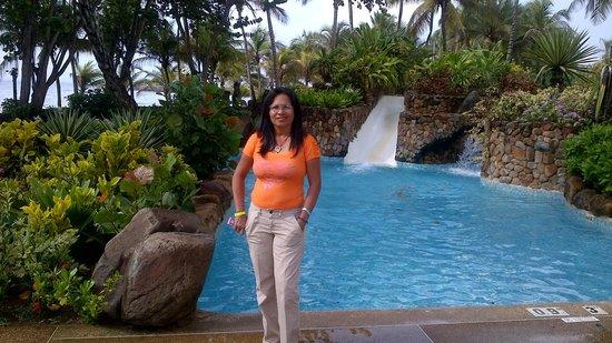 Hotel Venetur Margarita: paseando por las piscinas