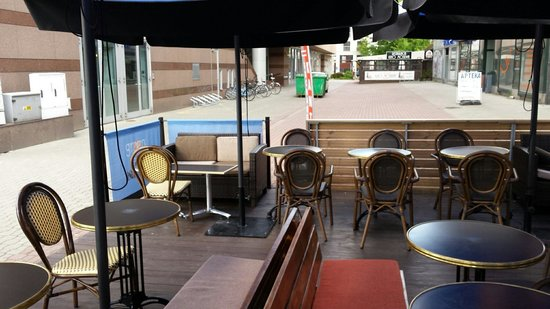 Reytan Hotel: Le bureau situé à 2 minutes de l'hôtel.  Wifi ***