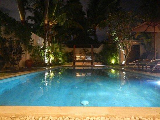Saba Villas: Sadawa pool