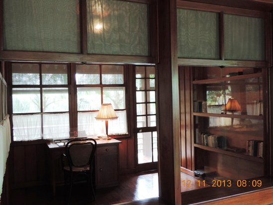 Ho Chi Minh Presidential Palace Historical Site: Ho Chi Minh's study in the stilt house