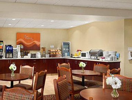 Days Inn Edmonton South: Breakfast Area