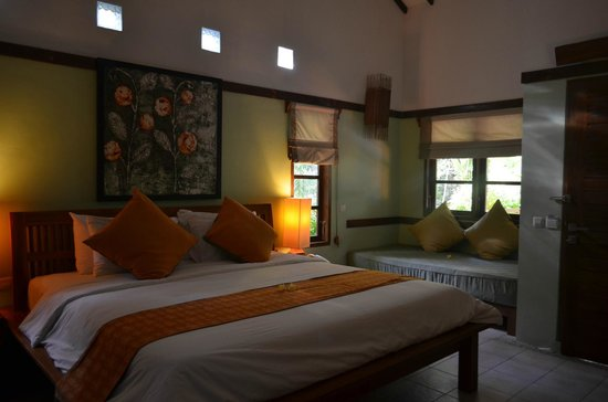 Cocotinos Sekotong, Boutique Beach Resort & Spa : Our room