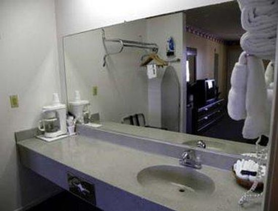 Knights Inn Ontario: Bathroom