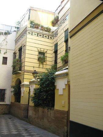 Apartamentos Mariscal: Vista di Calle Mariscal