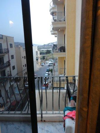 Porto Azzurro : vista dal poggiolo 2