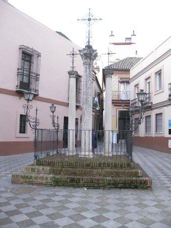Apartamentos Mariscal: Subito dopo Calle Mariscal - Plaza de Las cruces