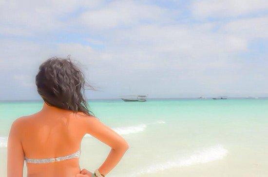 Royal Zanzibar Beach Resort: L.océan indien!
