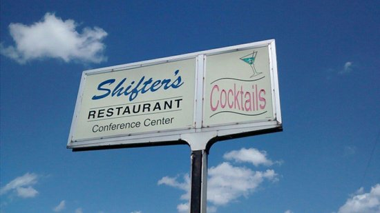 Shifters Restaurant: Shifters sign