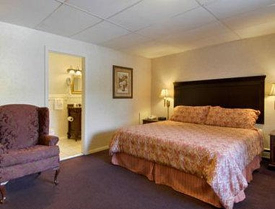 Travelodge Inn and Suites Latham : Standard King Bed Room